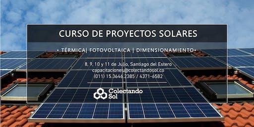 Curso de Proyectos Solares// Santiago del Estero Junio 2019
