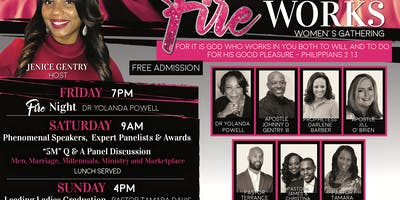 """"""" The Fire Works Women's Gathering"""""""