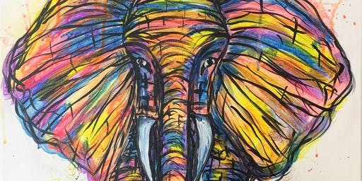 Eclectic Elephant Saturday Afternoon Paint Party!