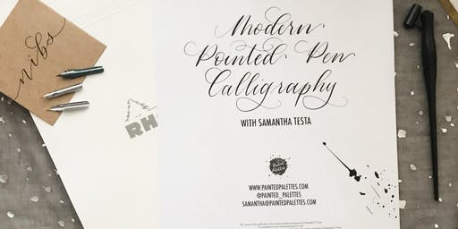 Pointed Pen Calligraphy