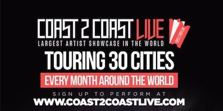 Coast 2 Coast LIVE Artist Showcase Toronto, Canada - $50K Grand Prize tickets