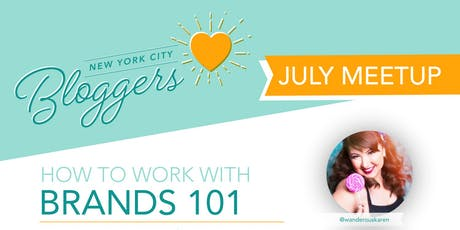 NYC Bloggers Launch: Working with Brands 101 tickets