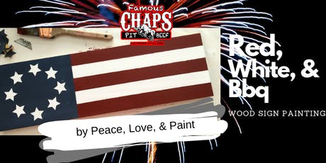 Patriotic Wood Sign Painting tickets