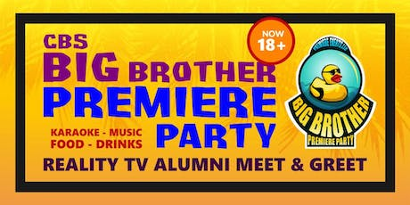 Big Brother 21 Premiere PARTY tickets