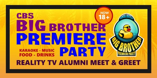 Big Brother 21 Premiere PARTY