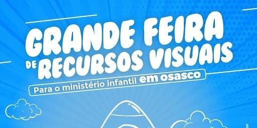 Feira de recursos visuais infantil e WORKSHOP em Osasco