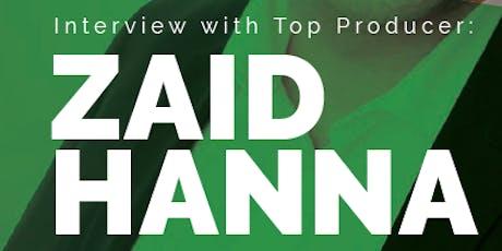 Mastermind Class with Zaid Hanna  tickets