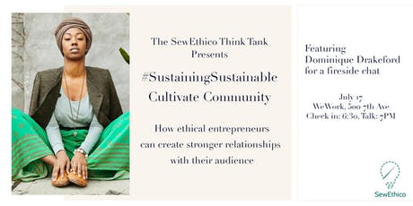#SustainingSustainable: Cultivate Community tickets