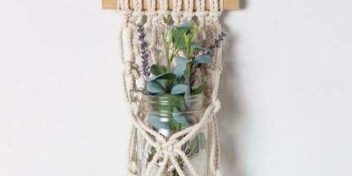Feeling Knotty Macrame Night