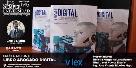 Presentación Libro Abogado Digital entradas