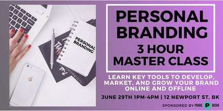 Personal Branding Masterclass: Grow Your Own Brand & Your Business Online   tickets