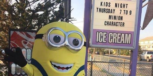 Free Kids Night Fun; Enjoy Free Glitter Tattoos, Balloon Art, Sand Art or so much more