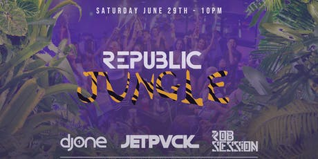 Republic Saturdays | Jungle | 6.29.19 tickets