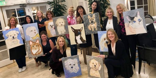 Paint Your Pet: Summer Pet Portrait Workshops