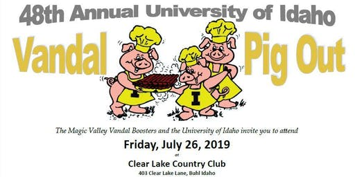 48th Annual University of Idaho Vandal Pig Out
