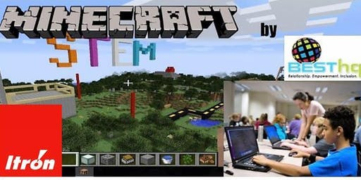 STEM Minecraft at Hillyard Library with BESThq (8/20 - Session 2)