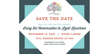 6th Annual Bring the Conversation to Light Luncheon tickets