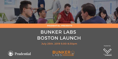 Bunker Labs' Boston Chapter Launch, Presented by Prudential tickets
