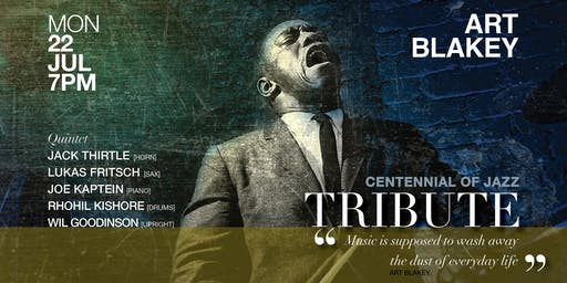 IN CONCERT || TRIBUTE TO ART BLAKEY