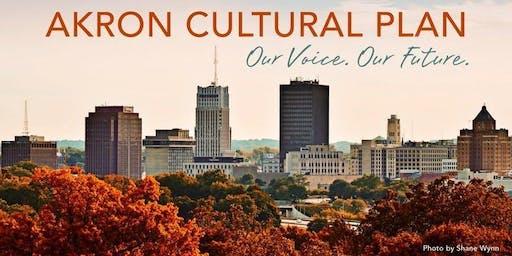 Akron Cultural Plan: Artist Focus Group