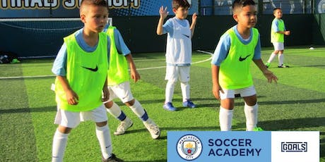 FREE Session: Manchester City Soccer Academy at Goals Rancho tickets