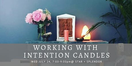 Working with Intention Candles tickets
