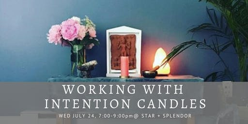 Working with Intention Candles