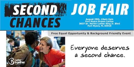 Second Chances Job Fair  tickets