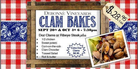 Clam Bakes tickets