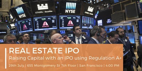 Real Estate IPO tickets