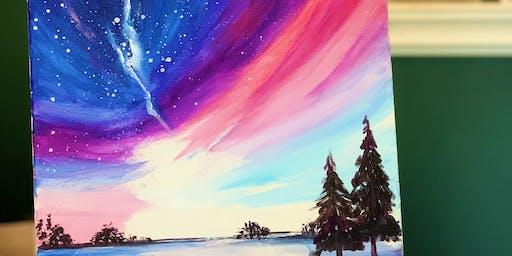Beginner Art Painting Event - Aurora- 2 Hrs