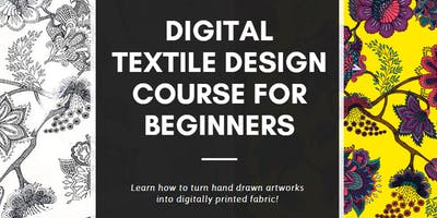 Digital textile design course for beginners