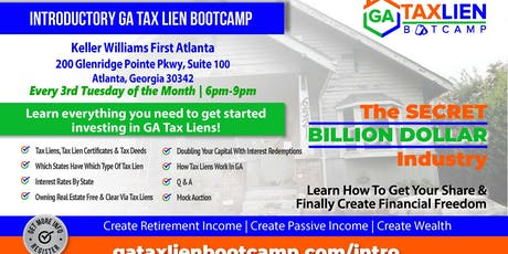 CE | Introductory GA Tax Lien Bootcamp tickets