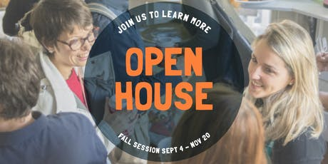 Open House! Fall Session 2019 tickets