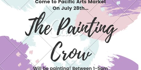 The Painting Crow at Pacific Arts Market tickets