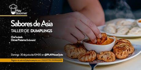 Sabores de Asia: Taller de Dumplings entradas