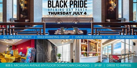 Black & Proud as F*ck: Chicago Black Pride 2019 Opening Day Party tickets