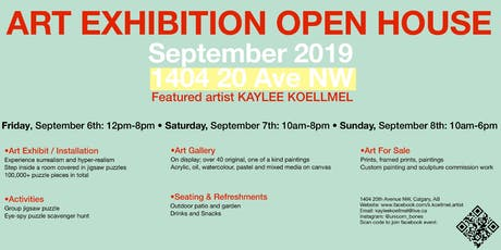 Art Show Exhibition Open House Featured Artist; Kaylee Koellmel tickets
