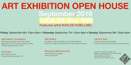 Art Show Exhibition Open House Featured Artist; Kaylee Koellmel