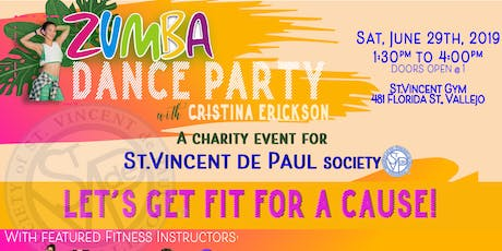 Bay Area Zumba Dance Fundraiser For Charity tickets