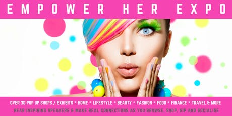 EMPOWER HER EXPO Exhibitor Registration tickets