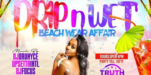 DRIP N WET BEACH WEAR AFFAIR