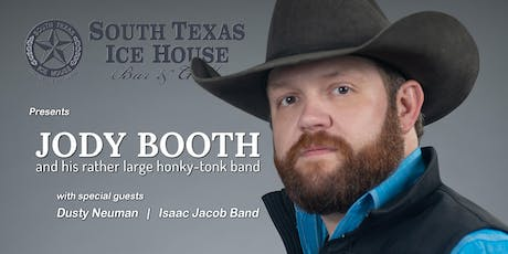 Jody Booth & his rather large honky-tonk band at the South Texas Ice House tickets