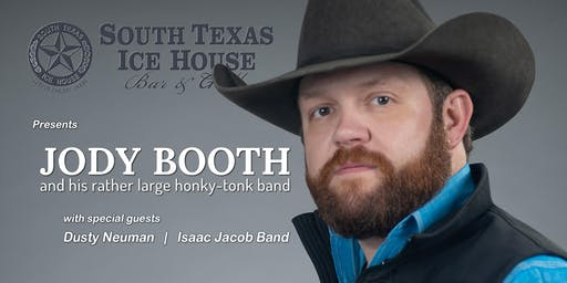 Jody Booth & his rather large honky-tonk band at the South Texas Ice House
