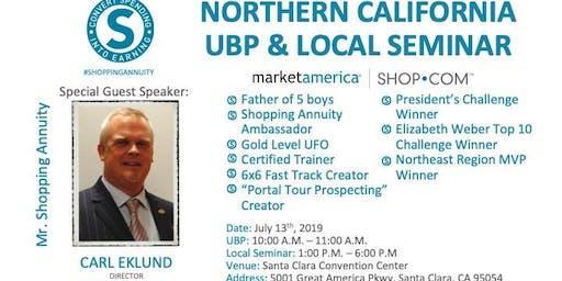 Carl Eklund Local Seminar July 13, 2019