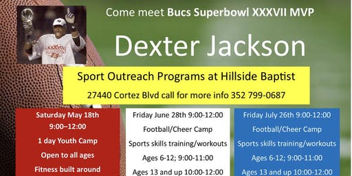 Dexter Jackson and ASPI Sports Outreach Program