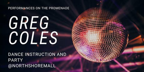 Greg Coles Line Instruction and Dance Party at the Promenade tickets