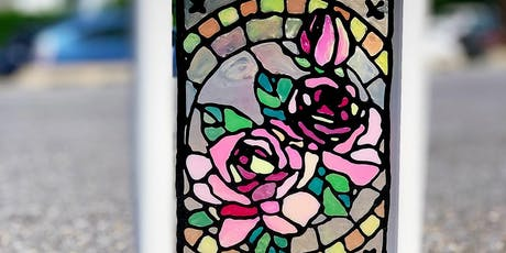 PAINT BAR - FAUX STAINED GLASS -BEGINNER ART tickets