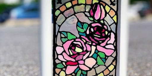 PAINT BAR - FAUX STAINED GLASS -BEGINNER ART