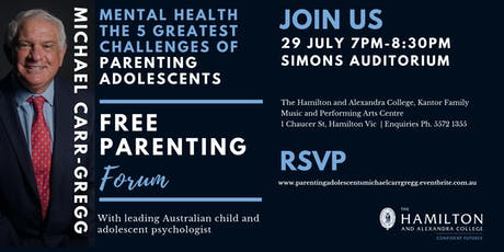 Mental Health and the 5 Greatest Challenges of Parenting Adolescence tickets